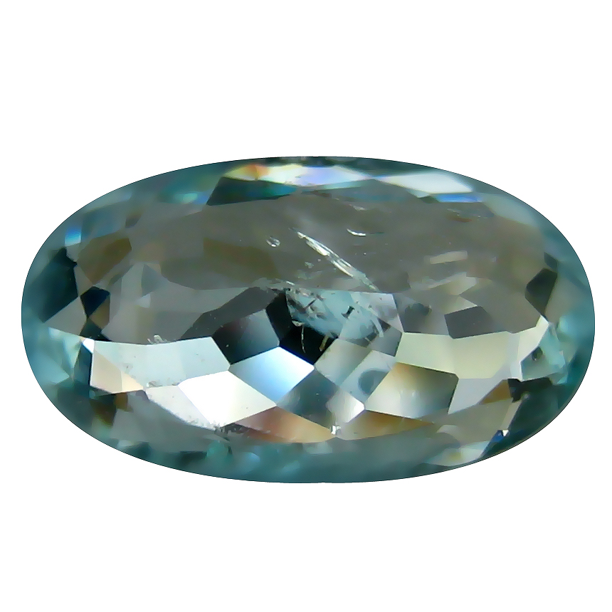 3.22 ct AIG CERTIFIED 100% NATURAL GREENISH BLUE COLOR